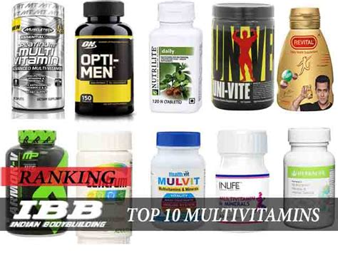 best products for bodybuilding top 10 multivitamins supplements in india for 2018