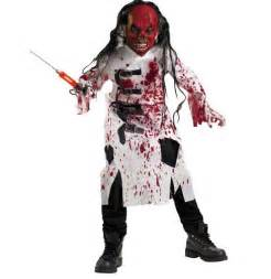 Naughty super scary halloween costumes for kids are showing up on