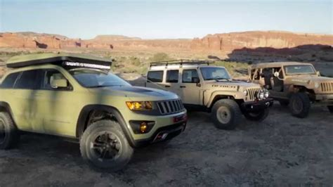 jeep concept vehicles 2015 2015 easter jeep safari moab concept vehicles youtube