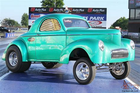 Willys Custom 1941 Willys Gasser Style Coupe In Green