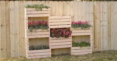 jardines verticales con palets