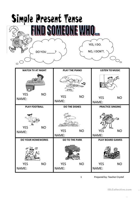 Simple Present Tense Worksheets by All Worksheets 187 Simple Present Tense Worksheets