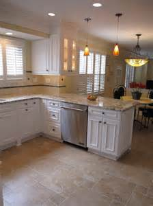 White Kitchen Floor Ideas by Kitchen Floor Tile Ideas With White Cabinets Interior