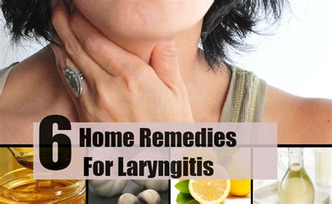 6 effective home remedies for laryngitis