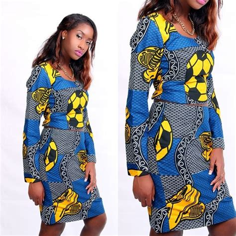 african kitenge tops ankara crop top with sleeves with matching skirt african