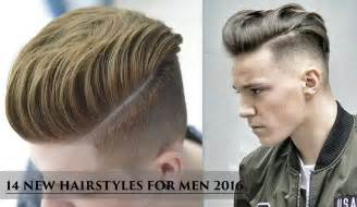 new haircut 2016 14 new hairstyles for men 2016 youtube