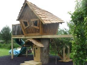 Backyard Treehouse Designs by Enchanted Tree House Enchanted Creations Playhouses