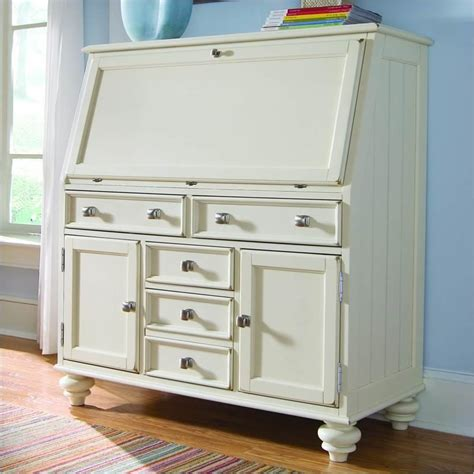 white computer armoire desk camden drop lid work station in buttermilk 920 945