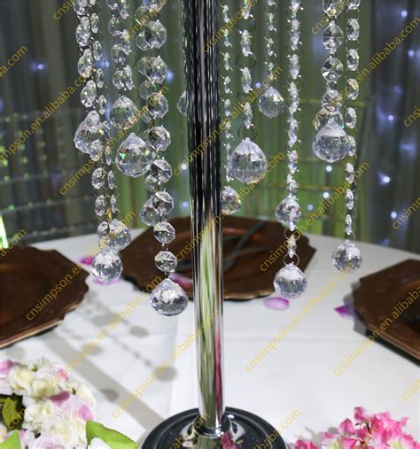 Crystal Table Top Chandelier Centerpieces For Weddings