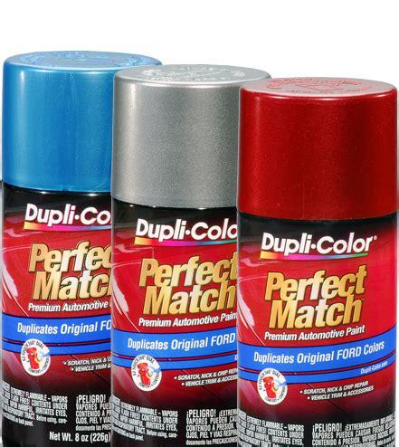 perfect match premium automotive paint aerosol | dupli color