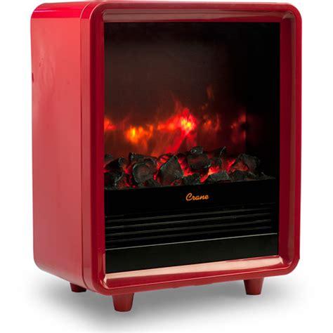 crane mini fireplace heater ee 8075 r walmart