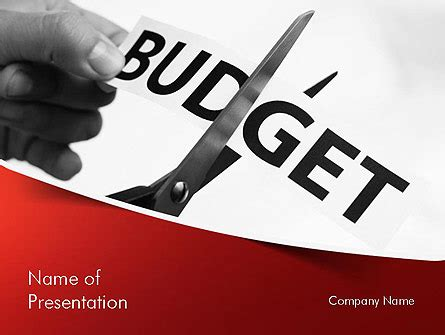 free powerpoint templates for budgets budget cuts powerpoint template backgrounds 11334