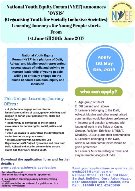 learn about learning journeys at bise 2017 with christine xu of ycis oysis learning journeys centre for social equity inclusion