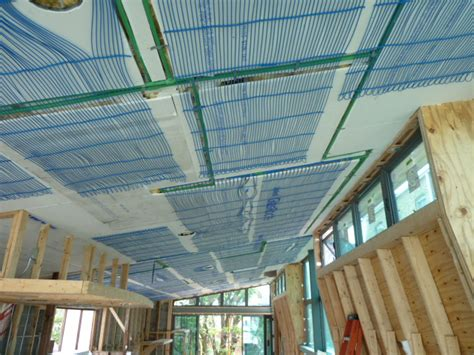 radiant heating ceiling radiant cooling in the ceiling elementalbuilding
