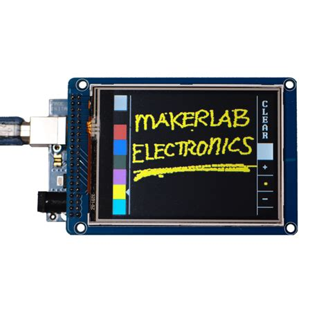 Lcd Touch Screen Ftf 24 Inch Arduino Compatible 3 2 inch 320x240 tft lcd touch screen module for arduino philippines makerlab electronics