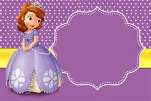 invitaciones de princesa sof 237 a para imprimir gratis