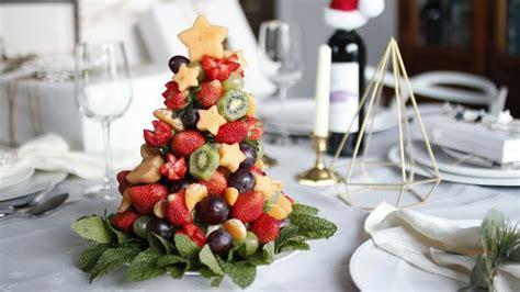 how to make christmas fruits diy fruit tree how to make edible fruit arrangement