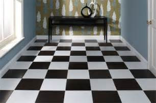 attractive Kitchens With Black Tiles #2: black-and-white-floor-tiles.jpg