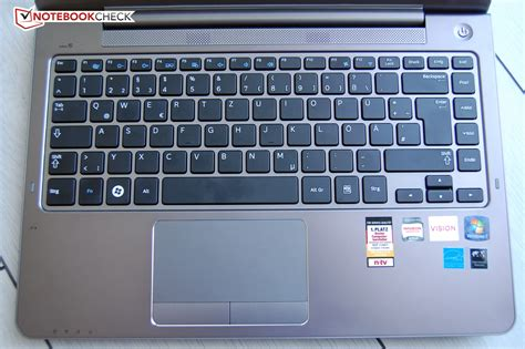 Keyboard Pc Samsung Review Samsung Series 5 535u4c Notebook Notebookcheck