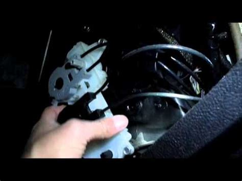 2007 ford focus vent selector bypass ( manualy adjust your