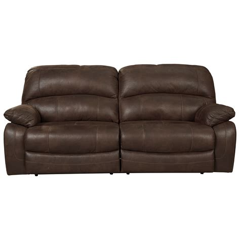 barrington leather power reclining sofa signature design by ashley zavier 4290147 2 seat reclining
