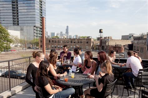 best rooftop bars in chicago for outdoor and city
