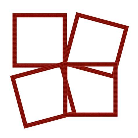 cornice png fiwbufgrafica cornice rossa