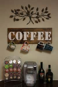 Coffee Home Decor by Rustic Coffee Cup Holder Futura Home Decorating
