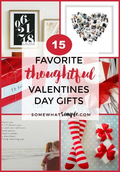 thoughtful s day gifts 15 thoughtful valentines gift ideas a gift