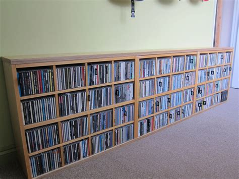 dvd cd storage archives ikea hackers