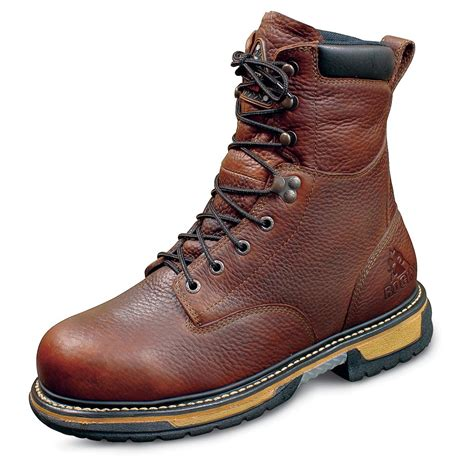s rocky 174 ironclad waterproof boots brown 20448