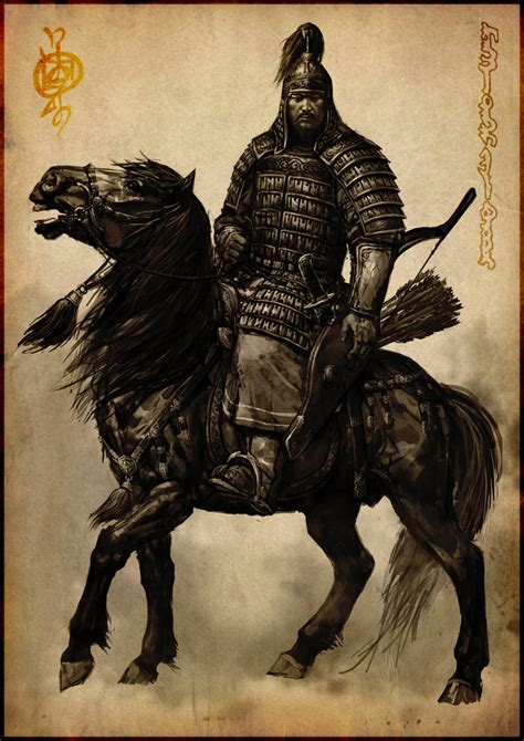 Steles Of The Sky The Eternal Sky warrior with mongol armour and a cuman pecheng helmet