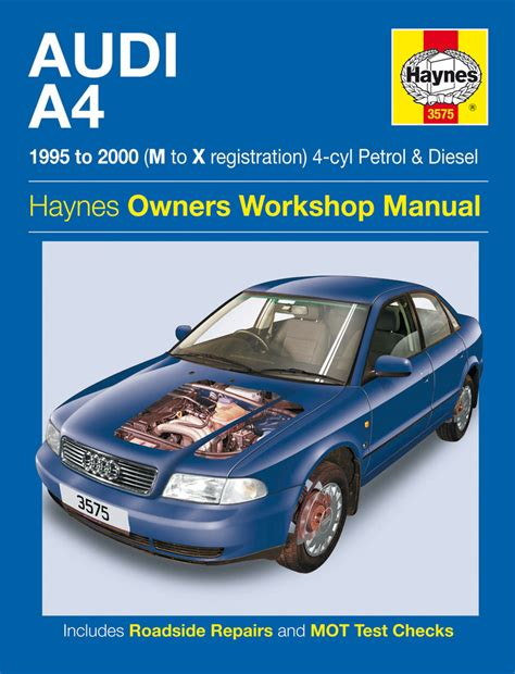 car repair manuals online pdf 2002 audi allroad on board diagnostic system audi a4 petrol diesel 95 00 haynes repair manual haynes publishing