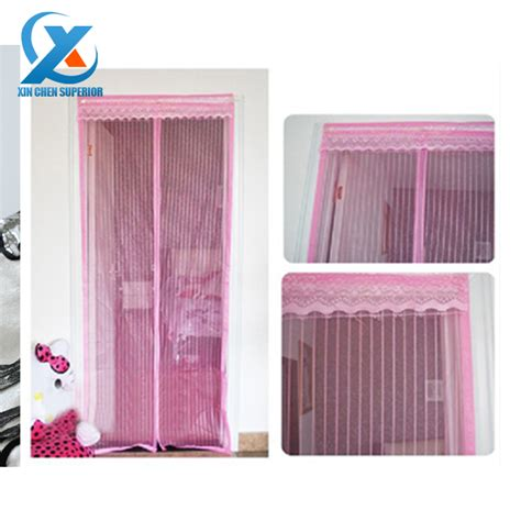 screen door curtains 90 210cm voile fabric screen door mosquito curtain