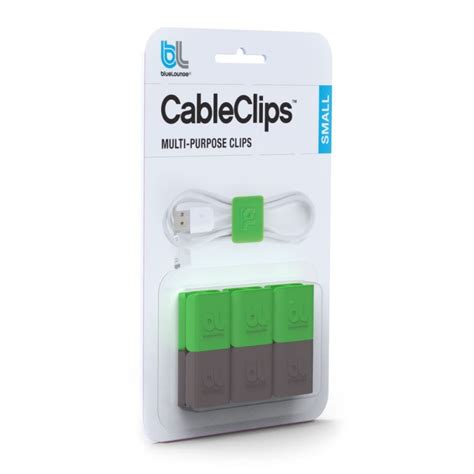 Bluelounge Cableclip Small Klip Kabel bluelounge cableclip small
