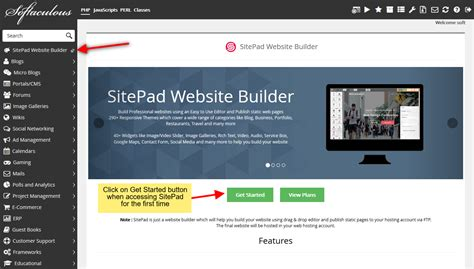 theme website generator softaculous scripts news blog