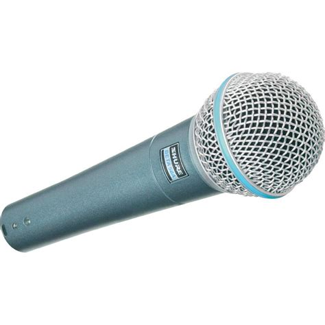 Shure Microhpone Beta 58a Suara Mantap The Vocal shure beta 58 a wired dynamic vocal microphone from conrad