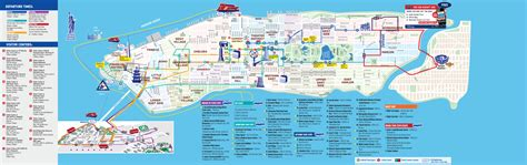 sightseeing map of nyc billets pour all loops statue de la libert 233