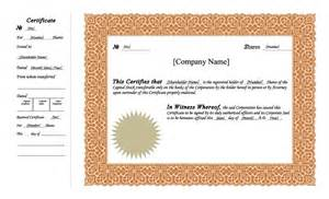 corporate bond certificate template 40 free stock certificate templates word pdf