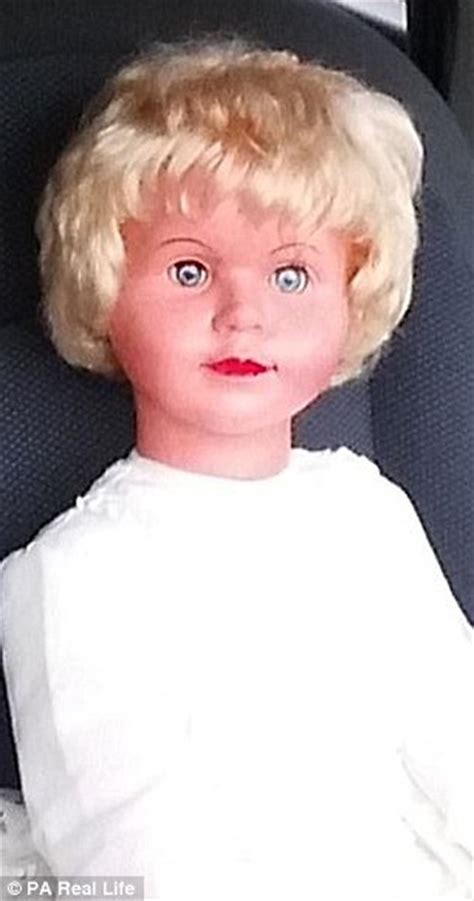 haunted doll causes chest of haunted doll peggy causes eighty viewers to