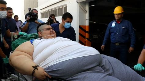 fattest person in the world world s heaviest man juan pedro franco undergoes weight