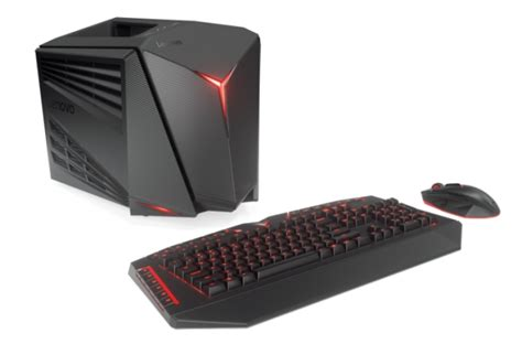 Compact Cube Is An All In One Desktop Audio System by Lenovo Launches Vr Ready Gaming Laptop Compact Desktop