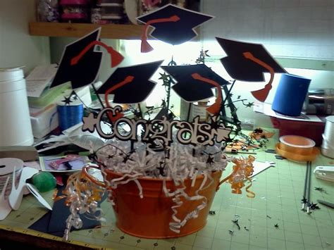 themes of the college dropout 8th grade graduation party ideas center piece for
