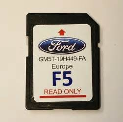 Ford Sync Navigation Sd Card Ford 2016 Sd Card Sat Nav Sync Europe Uk F5 Satellite