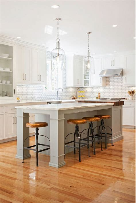 Farmhouse Kitchen Island Lighting 25 Best Kitchen Pendant Lighting Ideas On Pinterest