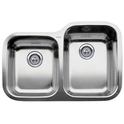 Blanco Supreme Undermount Stainless Steel 31 In 0 Hole 1 Blanco Kitchen Sinks Stainless Steel