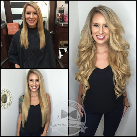 bombshell hair extensions bombshell hair microbead extensions hair by