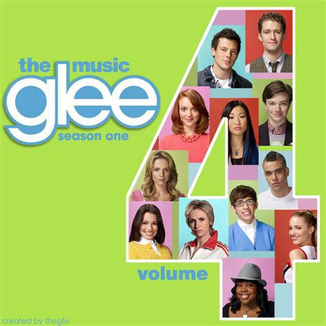 Cd Glee Cast The Season One Volume 2 glee images glee vol 4 album cover hd wallpaper and