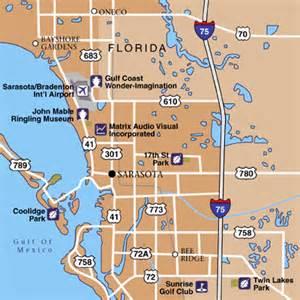 map of florida sarasota area sarasota bradenton international airport maps maps and
