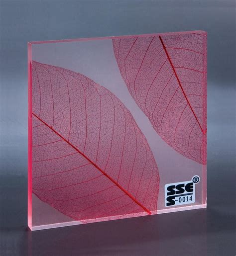 china transparent acrylic resin sheets for decorative
